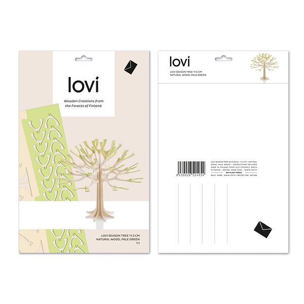 Lovi Træ 11,5 cm lysegrøn