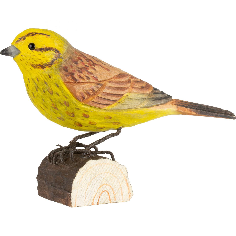 Wildlife Garden deco bird - gulspurv