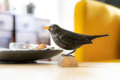 Wildlife Garden deco bird - solsort